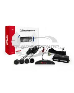 Parking assistant system LED 4 sensor black
